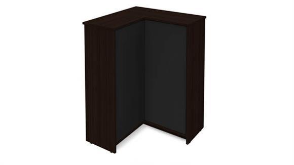 Storage Cabinets Bestar Corner Storage Unit