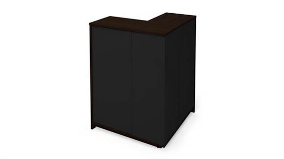 Storage Cabinets Bestar Outer Corner Storage Unit