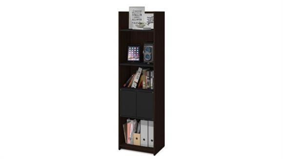 """Storage Cabinets Bestar 20""""W Storage Tower"""
