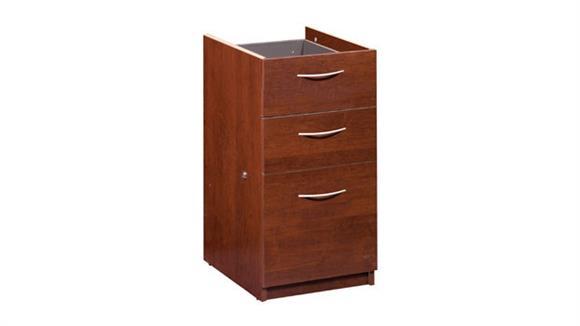 File Cabinets Vertical Bestar 3 Drawer Pedestal