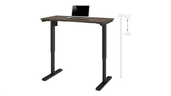 "Adjustable Height Desks & Tables Bestar 24"" x 48"" Electric Height Adjustable Table"