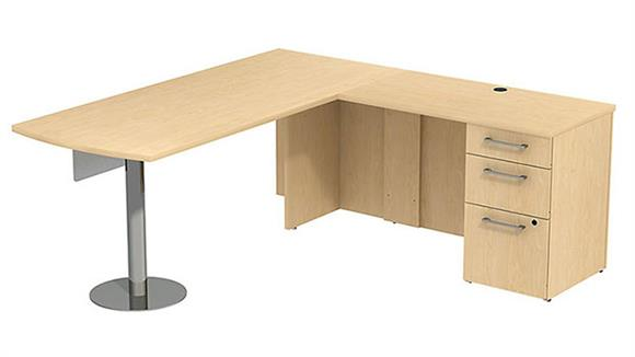 "L Shaped Desks Bush Furniture 72"" L Shaped Desk"