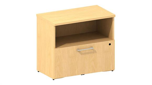 File Cabinets Lateral Bush Furniture 1 Drawer Lateral File