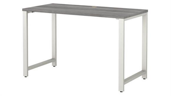 """Computer Tables Bush Furniture 48""""W x 24""""D Table Desk"""
