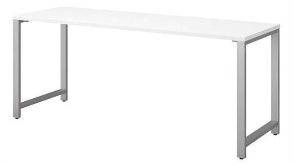 """Computer Tables Bush Furniture 72""""W x 24""""D Table Desk"""
