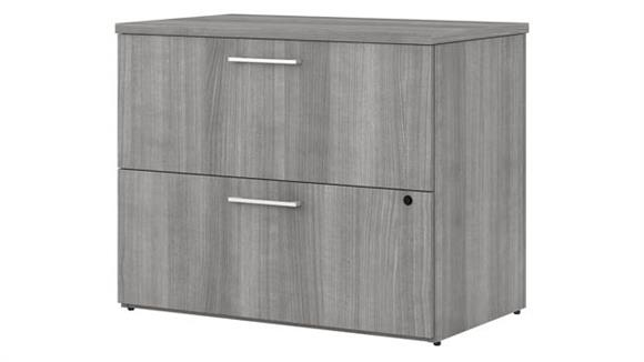 """File Cabinets Lateral Bush Furniture 36"""" W 2 Drawer Lateral File Cabinet"""