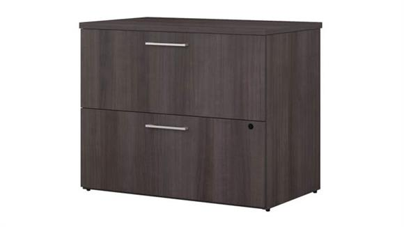 "File Cabinets Lateral Bush Furniture 36""W 2 Drawer Lateral File Cabinet"