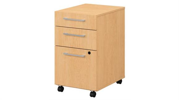 Mobile File Cabinets Bush Furniture 3 Drawer Mobile File Cabinet - Assembled