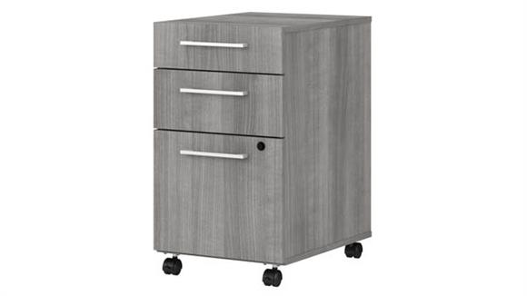 Mobile File Cabinets Bush Furniture 3 Drawer Mobile File Cabinet - Assembled