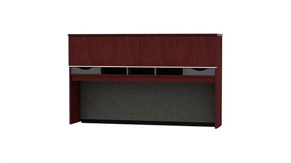 """Desk Parts & Accessories Bush Furniture 72""""W Credenza Hutch"""