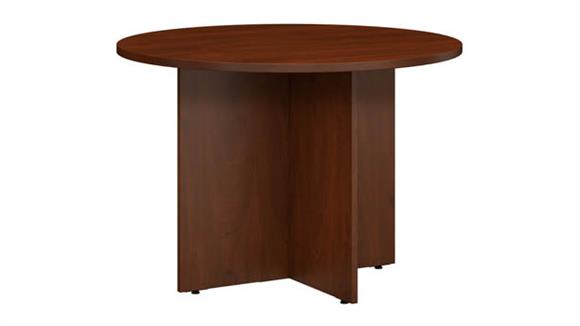"""Conference Tables Bush Furniture 42""""W Round Conference Table"""