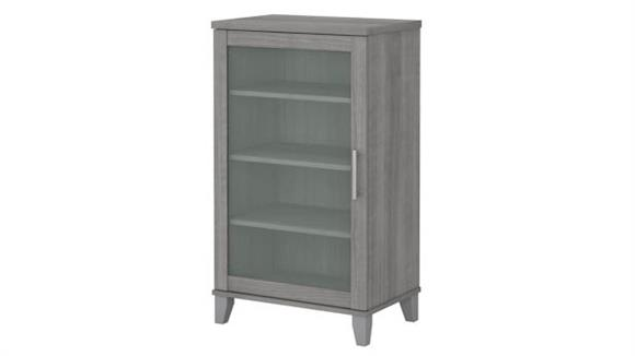 Media Storage Bush Furniture Media Accent Cabinet