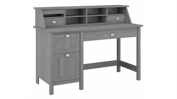 "Computer Desks Bush Furniture 54"" W Computer Desk with Drawers and Desktop Organizer"