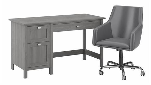 "Computer Desks Bush Furniture 54"" W Computer Desk and Chair Set"