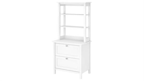 Bookcases Bush Furniture Bookcase with Drawers