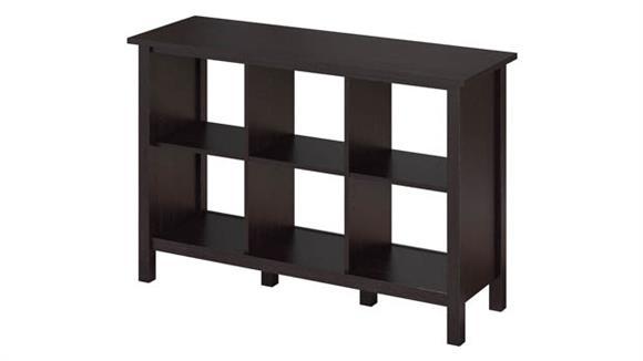 Bookcases Bush Furniture 6 Cube Storage Bookcase