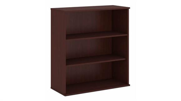 """Bookcases Bush Furniture 48""""H Three Shelf Bookcase"""