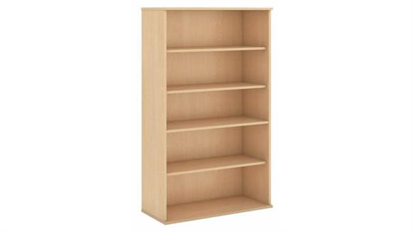 "Bookcases Bush Furniture 66""H Five Shelf Bookcase"
