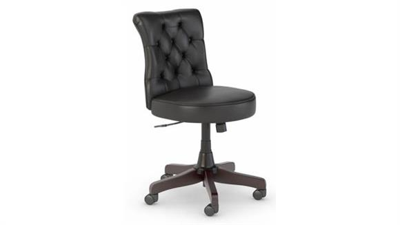 Office Chairs Bush Furniture Mid Back Tufted Office Chair