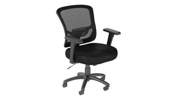 Office Chairs Bush Furniture Mid Back Mesh Executive Office Chair