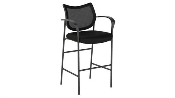 Office Chairs Bush Furniture Mesh Back Standing Desk Stool