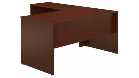 "L Shaped Desks Bush Furniture 60""W L-Shaped Desk"