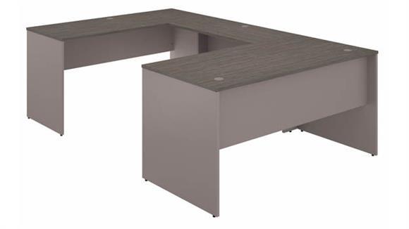 "U Shaped Desks Bush Furniture 60""W U-Shaped Desk"