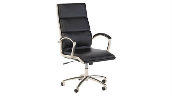 Office Chairs Bush Furniture High Back Leather Executive Office Chair