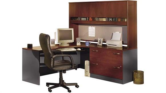 Corner Desks Bush Furniture Corner Desk with Hutch
