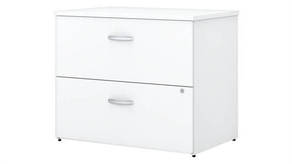File Cabinets Lateral Bush Furniture 2 Drawer Lateral File Cabinet - Assembled