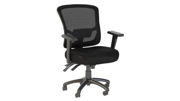 Office Chairs Bush Furniture Mid Back Multifunction Executive Chair