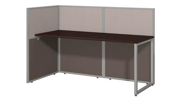 "Workstations & Cubicles Bush Furniture 60""W Straight Desk Open Office"