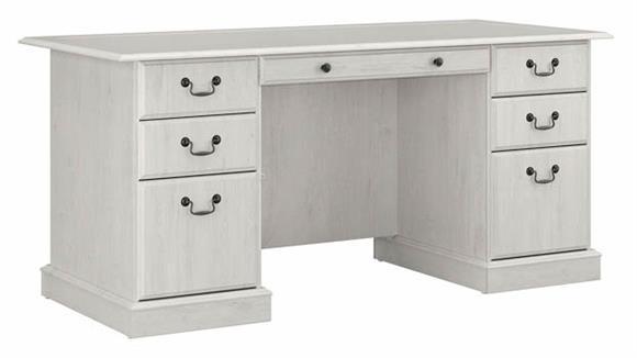 """Executive Desks Bush Furniture 66""""W Executive Desk"""