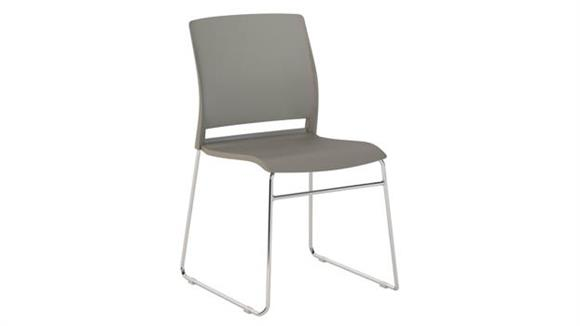 Stacking Chairs Bush Furniture Set of 2 Stackable Chairs
