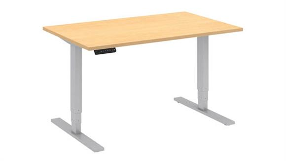 "Adjustable Height Desks & Tables Bush Furniture 48""W x 30""D Height Adjustable Standing Desk"