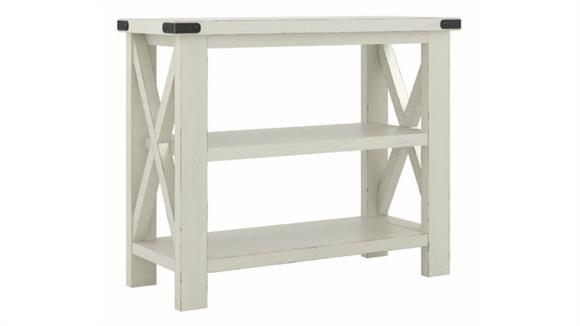 """Console Tables Bush Furniture 36"""" W Narrow Console Table with Shelves - Assembled"""