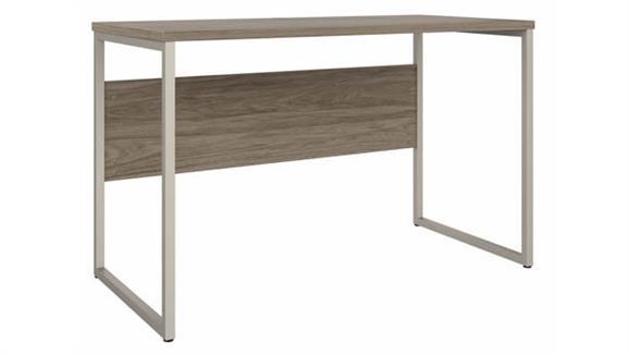 """Computer Desks Bush Furniture 48"""" W x 24"""" D Computer Table Desk with Metal Legs"""