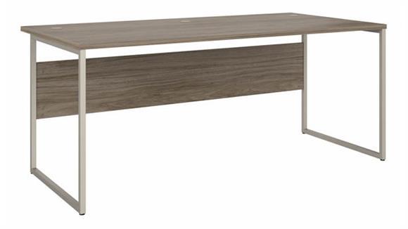 """Computer Desks Bush Furniture 72"""" W x 36"""" D Computer Table Desk with Metal Legs"""