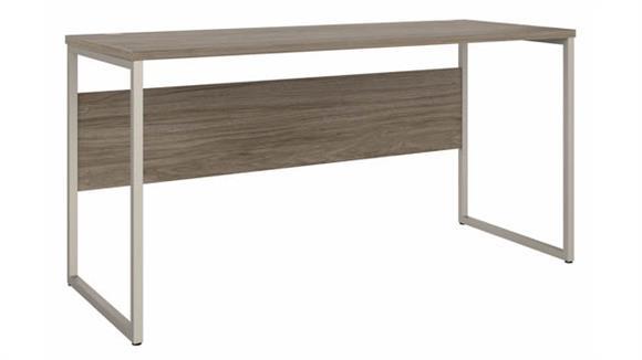 """Computer Desks Bush Furniture 60"""" W x 24"""" D Computer Table Desk with Metal Legs"""