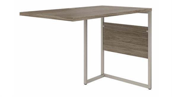 "Desk Parts & Accessories Bush Furniture 42"" W x 24"" D Desk Return/Bridge"