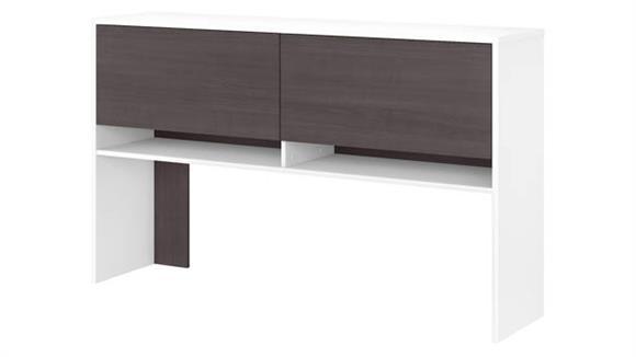 """Hutches Bush Furniture 61""""W Hutch for 72""""W Desk"""