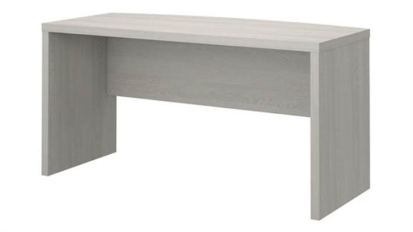"""Executive Desks Bush Furniture 60""""W Bow Front Desk"""