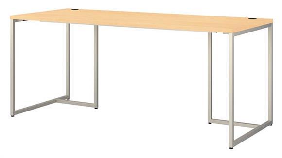 "Computer Desks Bush Furniture 72"" W Table Desk"