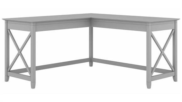 "L Shaped Desks Bush Furniture 60"" W L-Shaped Desk"