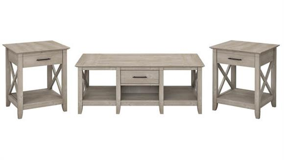 Coffee Tables Bush Furniture Coffee Table with Set of 2 End Tables