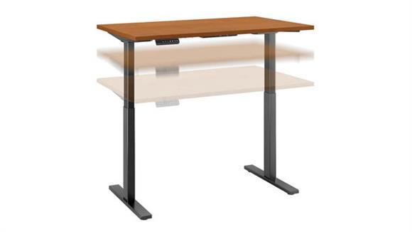 """Adjustable Height Desks & Tables Bush Furniture 48""""W x 30""""D Height Adjustable Standing Desk"""