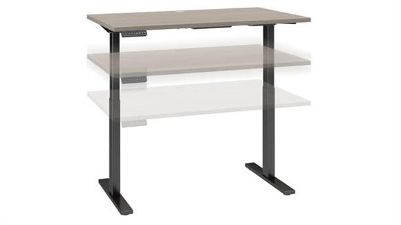 """Adjustable Height Desks & Tables Bush Furniture 48"""" W x 30"""" D Height Adjustable Standing Desk"""
