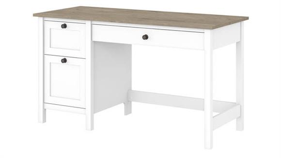 "Computer Desks Bush Furniture 54""W Computer Desk with Drawers"