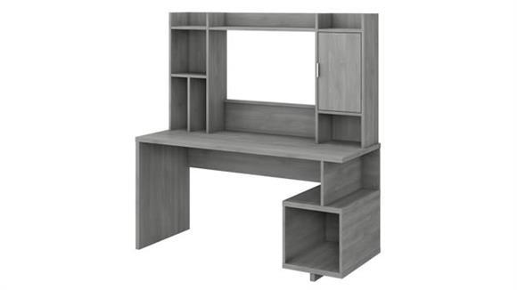"Writing Desks Bush Furniture 60"" W Writing Desk with Hutch"
