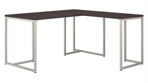 "L Shaped Desks Bush Furniture 60"" W L-Shaped Desk with 30"" W Return"